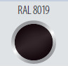 RAL8019
